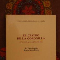 Libros de segunda mano: EL CASTRO DE LA CORONILLA. Mª LUISA CERDEÑO, ROSARIO GARCÍA HUERTA.. Lote 191369222