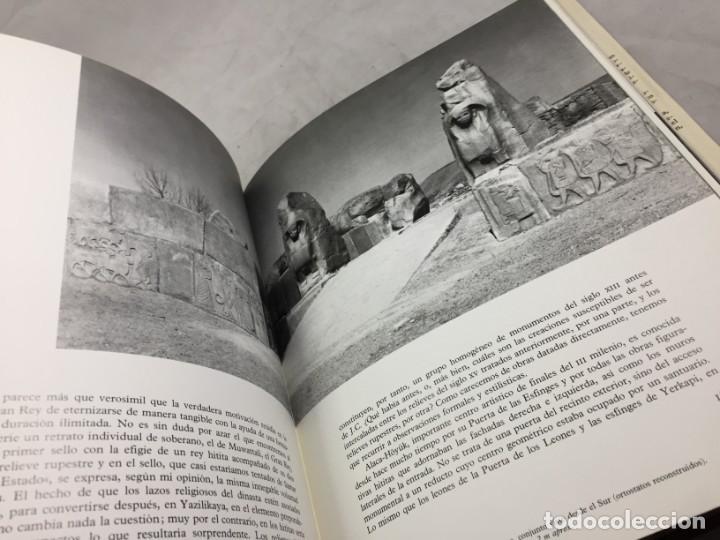 Libros de segunda mano: LOS HITITAS: EL UNIVERSO DE LAS FORMAS: AGUILAR. KURT BITTEL 1976 - Foto 5 - 191440343