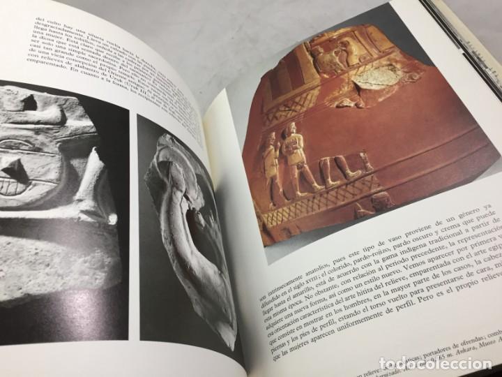 Libros de segunda mano: LOS HITITAS: EL UNIVERSO DE LAS FORMAS: AGUILAR. KURT BITTEL 1976 - Foto 10 - 191440343