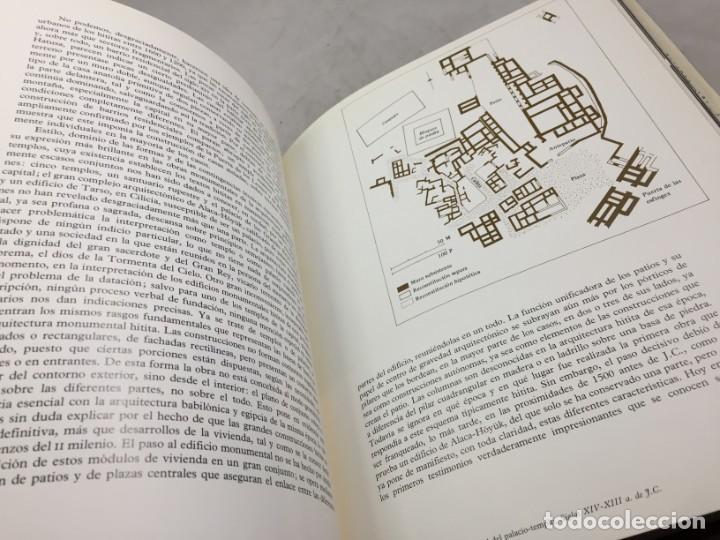 Libros de segunda mano: LOS HITITAS: EL UNIVERSO DE LAS FORMAS: AGUILAR. KURT BITTEL 1976 - Foto 11 - 191440343
