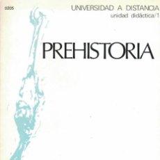 Libros de segunda mano: PREHISTORIA UNED. Lote 193046218