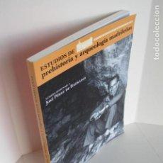 Libros de segunda mano: ESTUDIOS DE PREHISTORIA Y ARQUEOLOGÍA MADRILEÑAS. MUSEO SAN ISIDRO. HOMENAJE JOSÉ PÉREZ DE BARRADAS . Lote 194324587