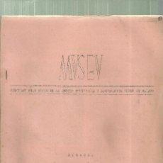 Libros de segunda mano: 3925.- MUSEU-CIRCULAR PER ALS SOCIS DE LA SECCIO D`HISTORIA I ARQUEOLOGIA MUSEU DE MATARO. Lote 194916005