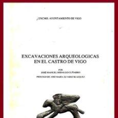 Libros de segunda mano: EXCAVACIONES ARQUEOLOGICAS EN EL CASTRO DE VIGO. HIDLAGO CUÑARRARO. QUEOLOGIA. PONTEVEDRA. GALICIA.. Lote 195474078