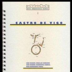 Libros de segunda mano: CASTRO DE VIGO. CULTURA CASTREXA. POBOAMENTO..... HIDALGO CUÑARRO. ARQUEOLOGIA. GALICIA.. Lote 195498510