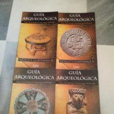 Libros de segunda mano: LOTE DE CUATRO LIBROS GUÍA ARQUEOLÓGICA MÉXICO Y GUATEMALA . Lote 196386526