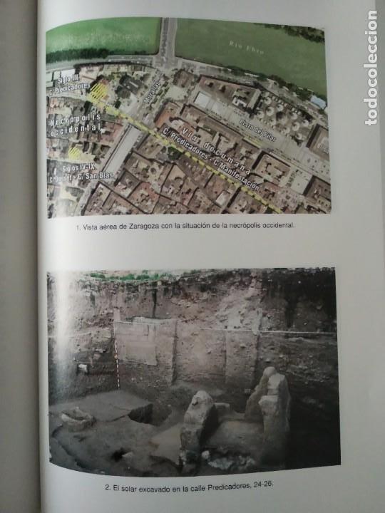 Libros de segunda mano: LA NECRÓPOLIS OCCIDENTAL DE CAESARAUGUSTA EN EL SIGLO III ---- MARÍA PILAR GALVE IZQUIERDO - Foto 3 - 196566528