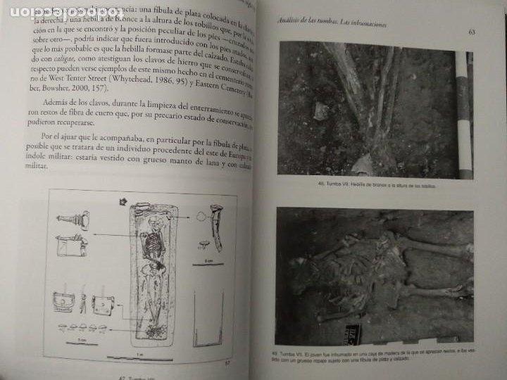 Libros de segunda mano: LA NECRÓPOLIS OCCIDENTAL DE CAESARAUGUSTA EN EL SIGLO III ---- MARÍA PILAR GALVE IZQUIERDO - Foto 5 - 196566528