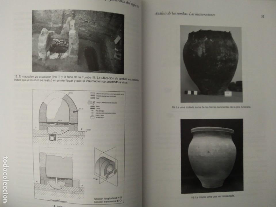 Libros de segunda mano: LA NECRÓPOLIS OCCIDENTAL DE CAESARAUGUSTA EN EL SIGLO III ---- MARÍA PILAR GALVE IZQUIERDO - Foto 6 - 196566528