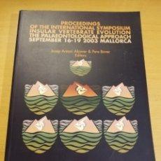 Libros de segunda mano: MONOGRAFIES DE LA SOCIETAT D'HISTORIA NATURAL DE LES BALEARS, 12. Lote 196797987