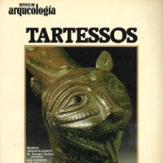 Libros de segunda mano: LOTE DE 3 REVISTA DE ARQUEOLOGIA TARTESOS- A. RUPESTRE EN ESPAÑA Y EL ORO EN LA E.. PRERROMANA. Lote 197509196