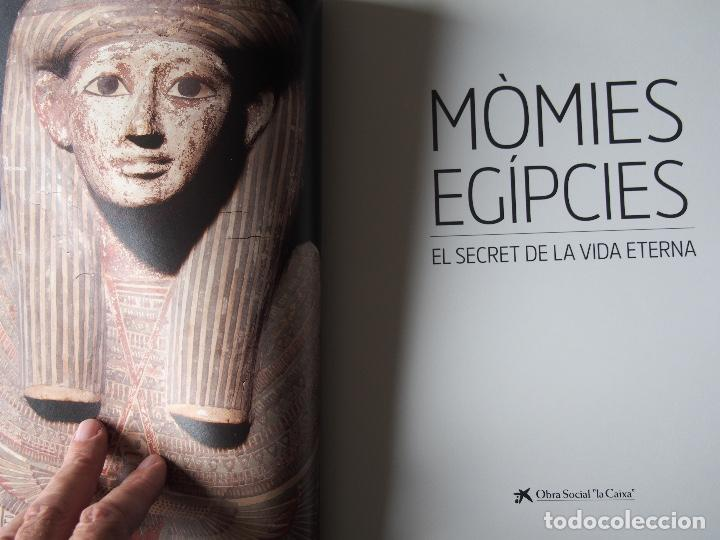 Libros de segunda mano: Mòmies Egípcies - El Secret de la Vida Eterna - Foto 2 - 197938636