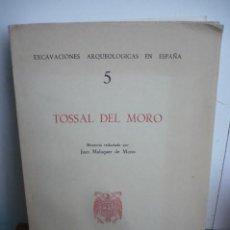 Libros de segunda mano: EXCAVACIONES ARQUEOLOGICAS EN ESPAÑA TOSSAL DEL MORO , GANDESA (COLL DEL MORO). Lote 199294497