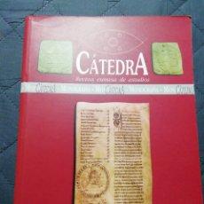 Libros de segunda mano: CÁTEDRA. O MOSTEIRO DE SAN XOÁN DE CAAVEIRO. Lote 199992126