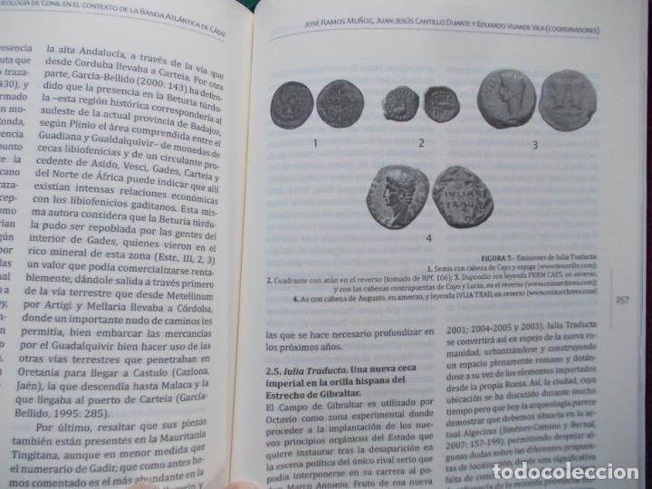 Libros de segunda mano: LAS SOCIEDADES PREHISTORICAS Y LA ARQUEOLOGIA DE CONIL EN EL CONTEXTO ATLANTICO - Foto 2 - 201144745