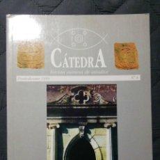 Libros de segunda mano: CÁTEDRA. REVISTA EUMESA DE ESTUDIOS. PONTEDEUME. Lote 201172612