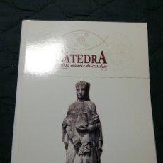 Libros de segunda mano: CÁTEDRA. REVISTA EUMESA DE ESTUDIOS. N°22. Lote 202387622