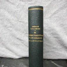Libros de segunda mano: EL HOMBRE PREHISTORICO Y LOS ORIGENES DE LA HUMANIDAD. - OBERMAIER, HUGO.. Lote 202739901