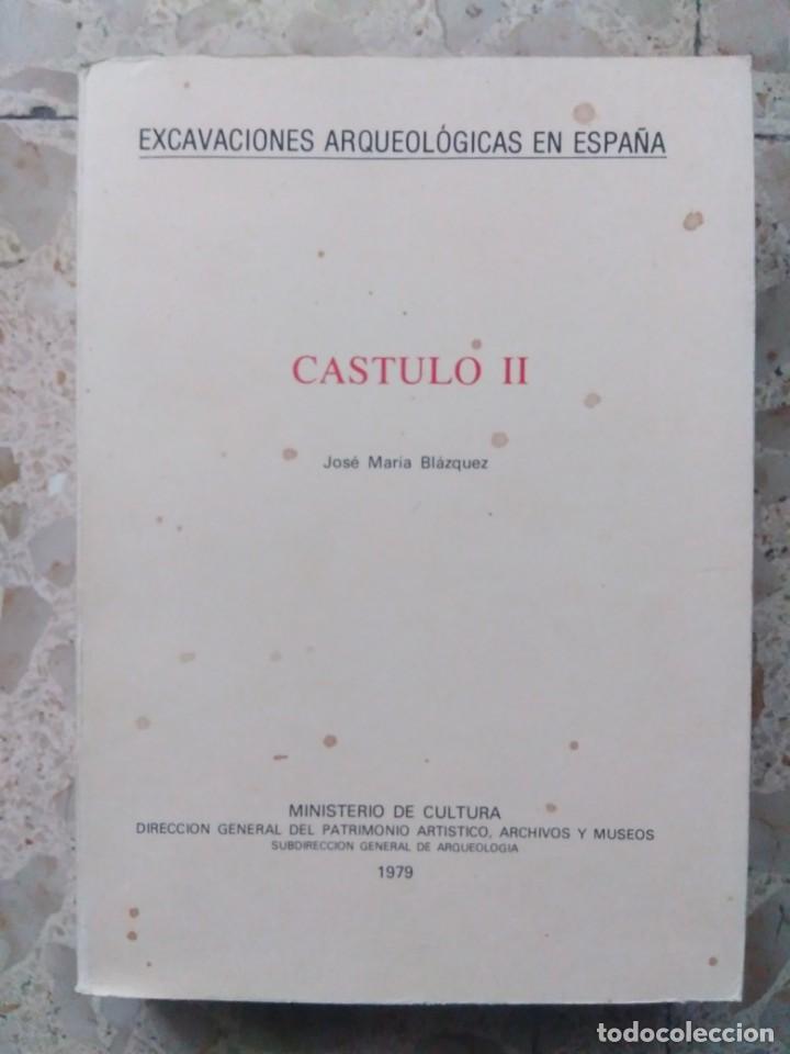 EXCAVACIONES ARQUEOLÓGICAS EN ESPAÑA - CÁSTULO II - JOSÉ MARÍA BLÁZQUEZ - MADRID, 1980 (Libros de Segunda Mano - Ciencias, Manuales y Oficios - Arqueología)
