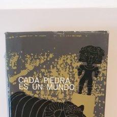 Libros de segunda mano: CADA PIEDRA ES UN MUNDO/ ANTONIO ARRIBAS/ 1AEDICIÓN, EDICIONES DESTINO , AÑO 1964. Lote 204529882