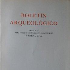 Libros de segunda mano: BOLETÍN ARQUEOLÓGICO 1976-77. MISCELÁNEA SALVADOR VILASECA. ARQUEOLOGÍA, TARRAGONA. Lote 204706391