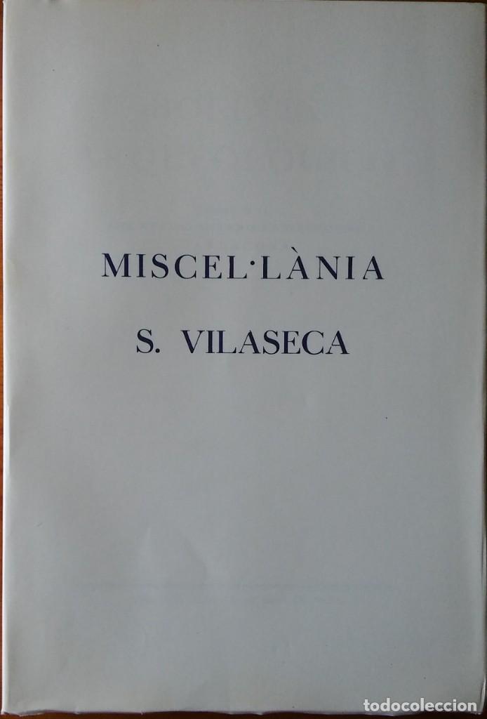 Libros de segunda mano: Boletín Arqueológico 1976-77. Miscelánea Salvador Vilaseca. Arqueología, Tarragona - Foto 2 - 204706391