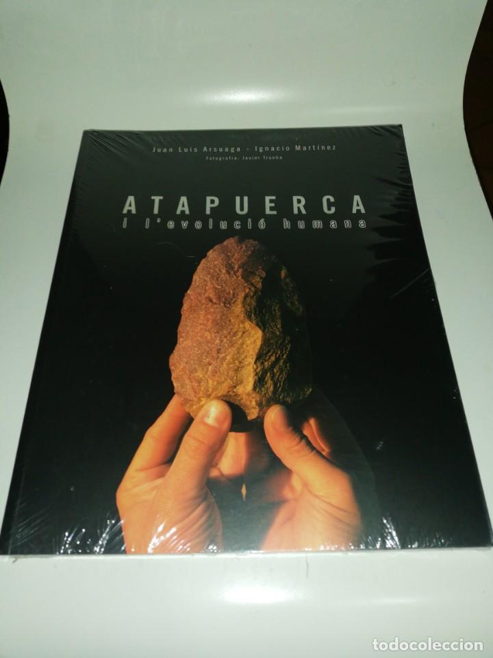 ARSUAGA / MARTÍNEZ - ATAPUERCA I L'EVOLUCIO HUMANA (Libros de Segunda Mano - Ciencias, Manuales y Oficios - Arqueología)