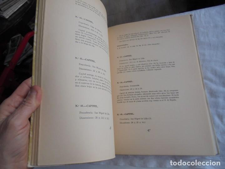 Libros de segunda mano: CATALOGOS DE LAS SALAS DE ARTE ASTURIANO PRERROMANICO DEL MUSEO ARQUEOLOGICO PROVINCIAL.OVIEDO 1961 - Foto 7 - 206571172