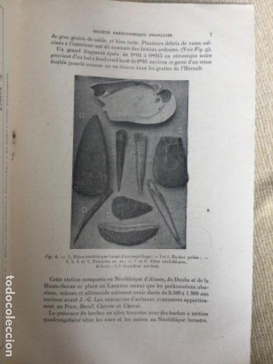 Libros de segunda mano: LA STATION NEOLITHIQUE DE LAUGERIE-BASSE - ABBE A. GLORY - 1942 - aux EYZIES Dordogne - 11p. - Foto 3 - 208039443