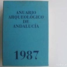 Libros de segunda mano: ANUARIO ARQUEOLOGICO DE ANDALUCIA 19870. (CONSEJERIA DE CULTURA JUNTA DE ANDALUCIA). Lote 209000207