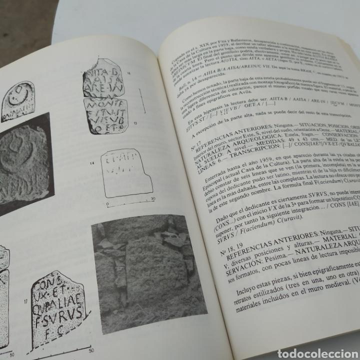 Libros de segunda mano: Ávila romana Emilio Rodríguez Almeida Ávila 1981 y 179 páginas - Foto 2 - 209158506