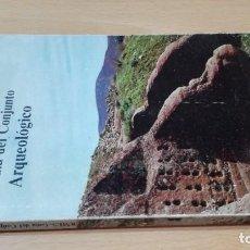 Libros de segunda mano: TIERMES - GUIA DEL CONJUNTO ARQUEOLOGICO - SORIA - CIUDAD RUPESTRE CELTIBERO ROMANA U101. Lote 209776428