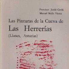 Libri di seconda mano: F. JORDÁ CERDÁ Y M. MALLO VIESCA. LAS PINTURAS DE LA CUEVA DE LAS HERRERÍAS (LLANES, ASTURIAS). Lote 210276902