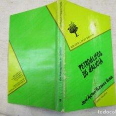 Libros de segunda mano: PETROGLIFOS DE GALICIA - VÁZQUEZ VARELA, JOSÉ MANUEL - SANTIAGO 1990 145 PAG 19CM + INFO. Lote 211385519