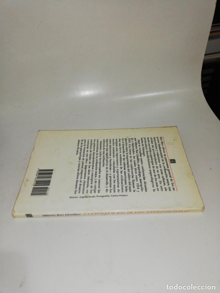 Libros de segunda mano: La civilización de los antiguos mayas - Ruz Lhuillier, Alberto - Foto 3 - 211442331
