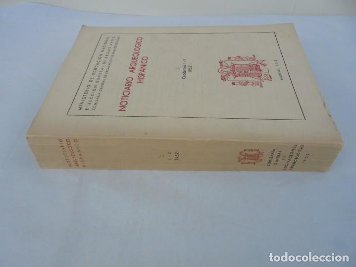 Libros de segunda mano: NOTICIARIO ARQUEOLOGICO HISPANICO. CUADERNOS 1-3. 1952. MINISTERIO DE EDUCACION NACIONAL - Foto 2 - 211719706