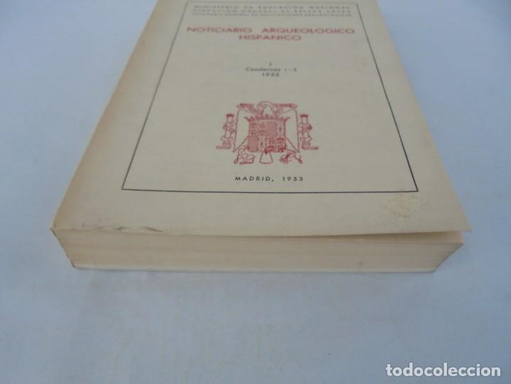Libros de segunda mano: NOTICIARIO ARQUEOLOGICO HISPANICO. CUADERNOS 1-3. 1952. MINISTERIO DE EDUCACION NACIONAL - Foto 3 - 211719706