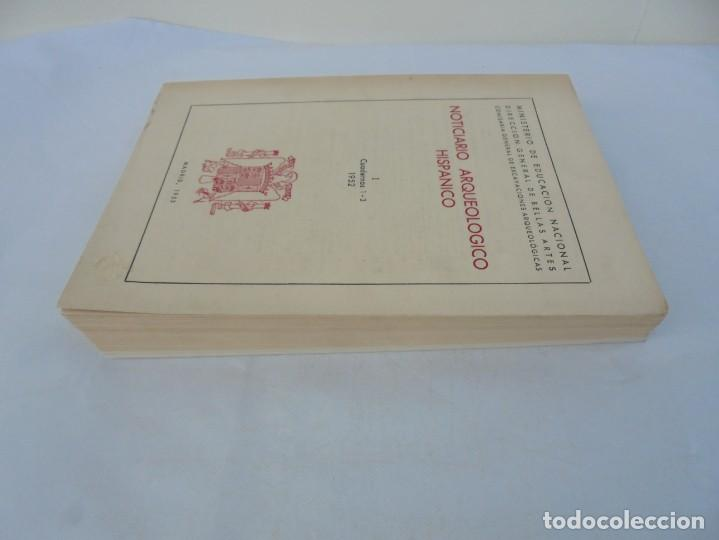 Libros de segunda mano: NOTICIARIO ARQUEOLOGICO HISPANICO. CUADERNOS 1-3. 1952. MINISTERIO DE EDUCACION NACIONAL - Foto 4 - 211719706