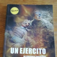 Libros de segunda mano: UN EJÉRCITO DE GRANDES ENSUEÑOS (TAO YUPING) EDITORA DE XI`AN. Lote 213652566