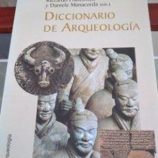Libros de segunda mano: DICCIONARIO DE ARQUEOLOGIA-RICCARDO FRANCOVJCH-CRITICA ARQUEOLOGIA- 2001-MUY BUEN ESTADO. Lote 214096130