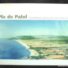 Libri di seconda mano: PLA DE PALOL. UN ESTABLIMENT ROMÀ DE PRIMER ORDRE A PLATJA D'ARO JOSEP MARIA NOLLA 2002 CASTELL-PLAT. Lote 214532698