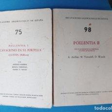 Libros de segunda mano: POLLENTIA I - POLLENTIA II. Lote 215260058