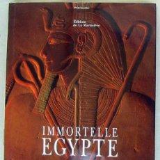 Libros de segunda mano: INMORTELLE EGYPTE - CHRISTIAN DELACAMPAGNE / ERICH LESSING - VER INDICE Y FOTOS. Lote 215890956