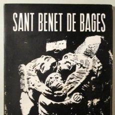 Livres d'occasion: SITJES, X. - SANT BENET DE BAGES. ESTUDI ARQUEOLÒGIC - MANRESA 1973 - MOLT IL·LUSTRAT. Lote 221225151