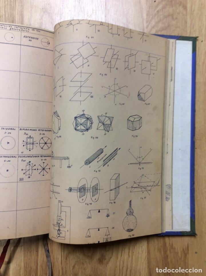 Libros de segunda mano: ANTIGUO LIBRO DE LA ESCULA TÉCNICA DE PERITOS DE MINAS DE MIERES 107 PÁGINAS - Foto 2 - 221515021