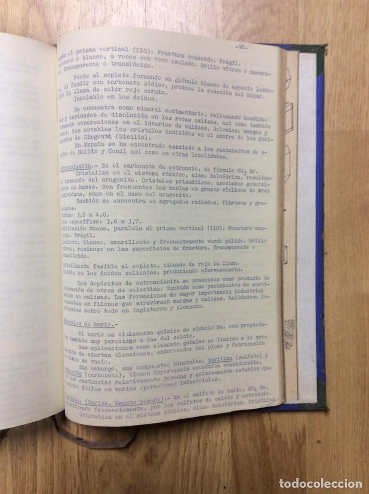 Libros de segunda mano: ANTIGUO LIBRO DE LA ESCULA TÉCNICA DE PERITOS DE MINAS DE MIERES 107 PÁGINAS - Foto 3 - 221515021