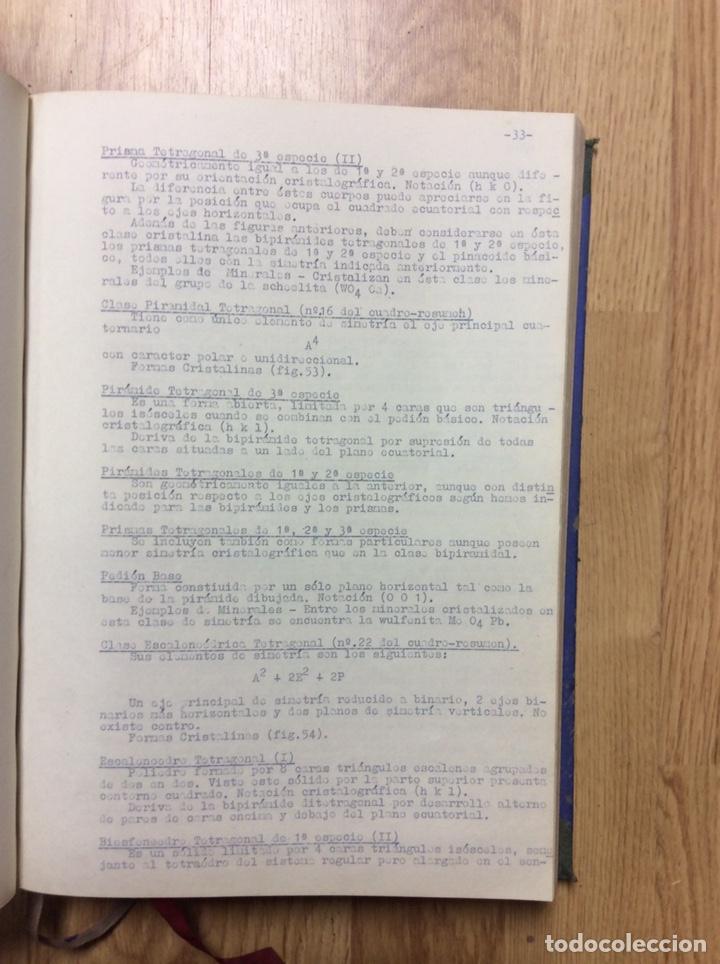 Libros de segunda mano: ANTIGUO LIBRO DE LA ESCULA TÉCNICA DE PERITOS DE MINAS DE MIERES 107 PÁGINAS - Foto 4 - 221515021
