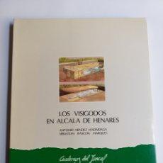 Libros de segunda mano: LOS VISIGODOS EN ALCALÁ DE HENARES. ANTONIO MÉNDEZ MADARIAGA CUADERNOS DEL JUNCAL MADRID. Lote 221870622