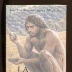 Libros de segunda mano: J.L. ARSUAGA. I. MARTÍNEZ. LA ESPECIE ELEGIDA. EVOLUCIÓN HUMANA . ED. CÍRCULO 1998. TAPA DURA. Lote 222638283
