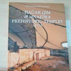 Libros de segunda mano: HAGAR QIM Y OTROS TEMPLOS PREHISTÓRICOS DE MALTA EN INGLÉS. Lote 224448305